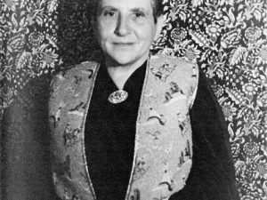 Portrait of w:en:Gertrude Stein by w:en:Carl Van Vechten; public domain as part of the Creative Americans Collection donated to the Library of Congress.